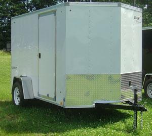Look EWLC85X24TE3 Enclosed Cargo Trailer