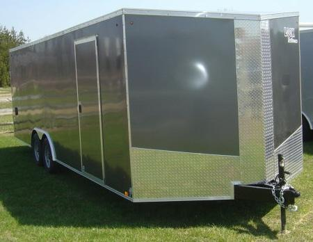 2018 Look EWLC 85 X 24 / Enclosed Car Trailer