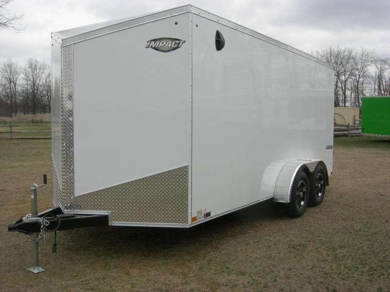 2020 Impact Trailers ITT716TA2 Enclosed Cargo Trailer
