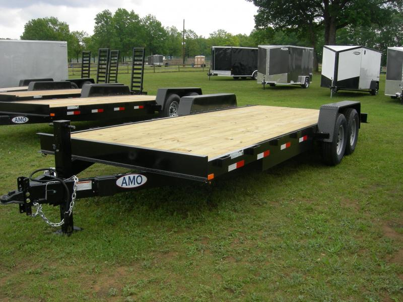 2019 American Manufacturing Operations (AMO) UG20CAR Car / Racing Trailer