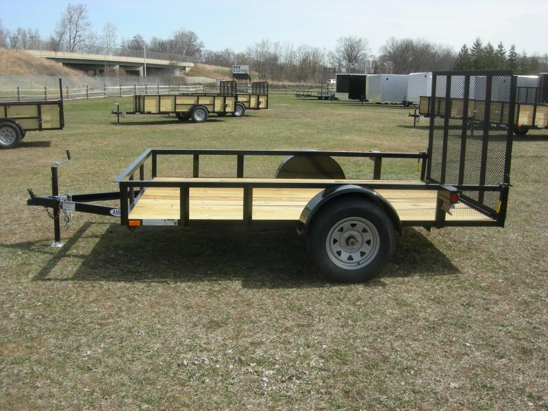 2019 American Manufacturing Operations (AMO) US76x10 Utility Trailer