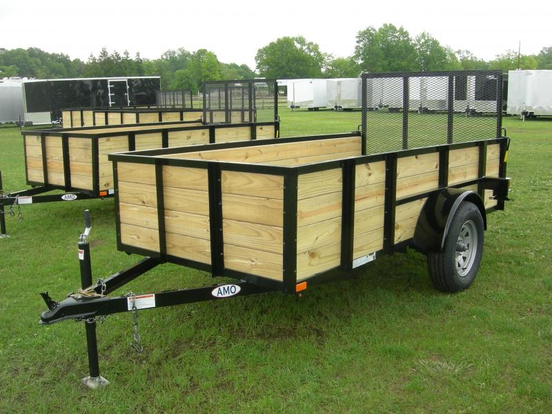 2019 American Manufacturing Operations (AMO) US5x10HS Utility Trailer