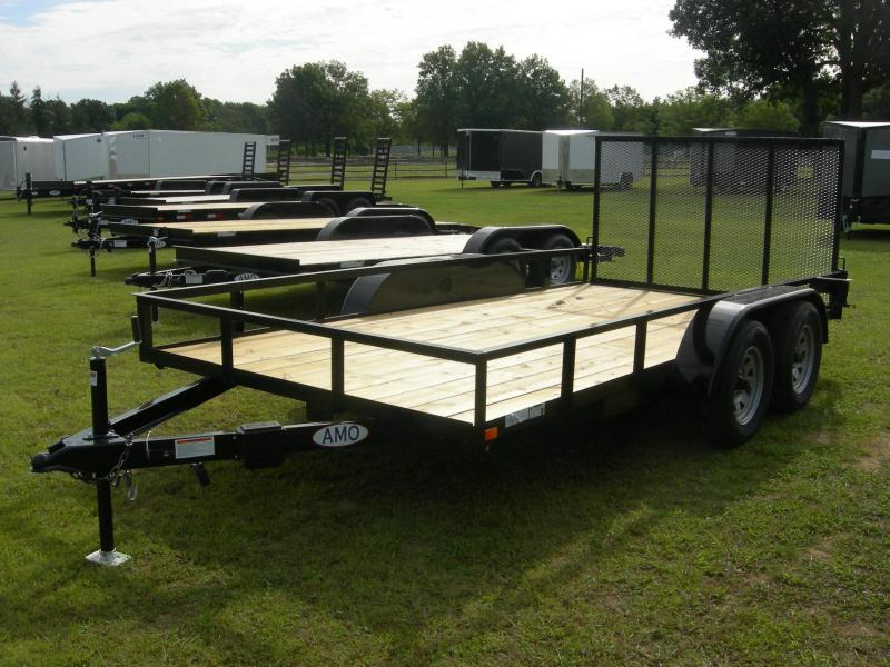 2020 American Manufacturing Operations (AMO) UT76x14TA2 Utility Trailer