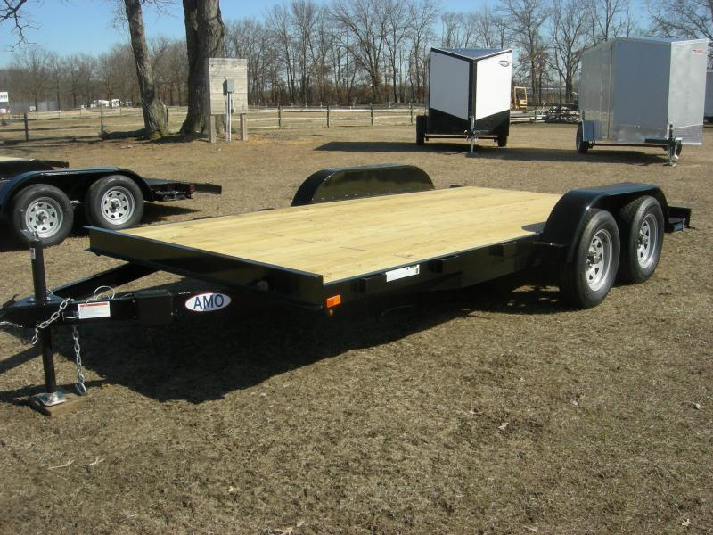 2019 American Trailers UT8216TACar Car / Racing Trailer