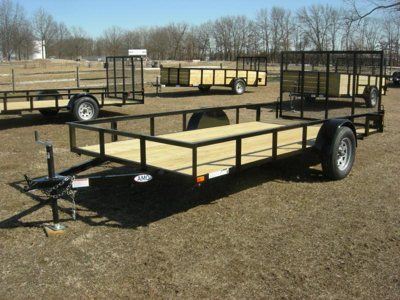 2019 American Trailers US7614LS Utility Trailer