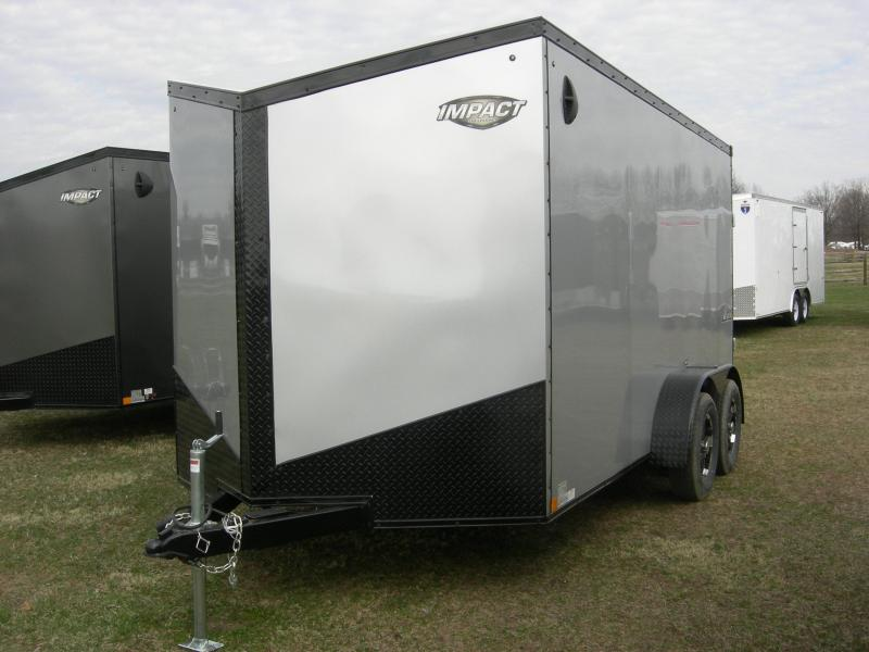 2020 Impact Trailers ITB714TA2 Enclosed Cargo Trailer