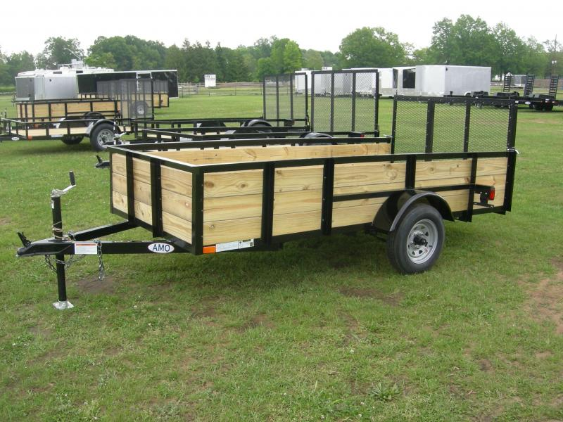 2019 American Manufacturing Operations (AMO) UL5x10HSEcono Utility Trailer