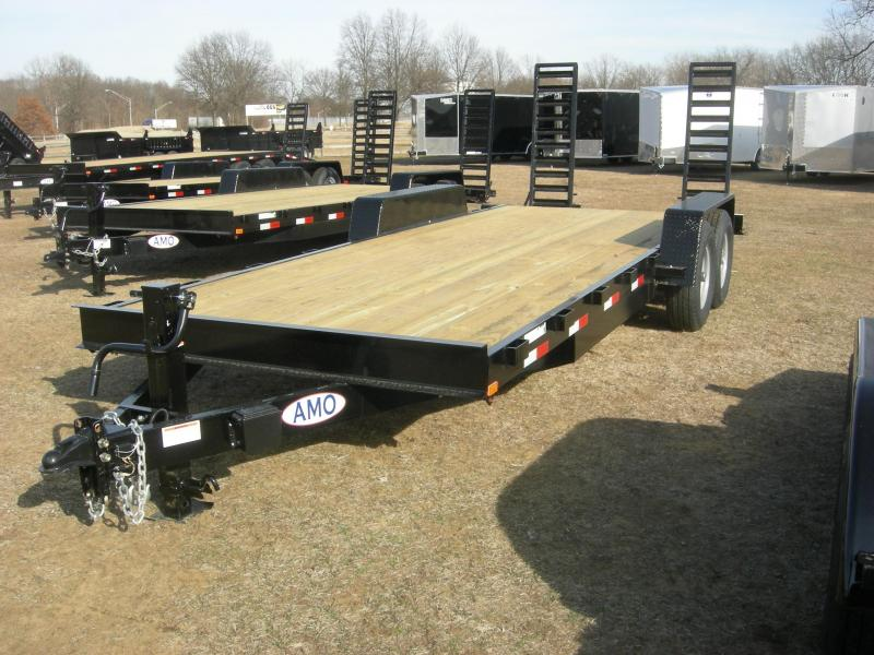 2019 American Trailers UH202 Equipment Trailer