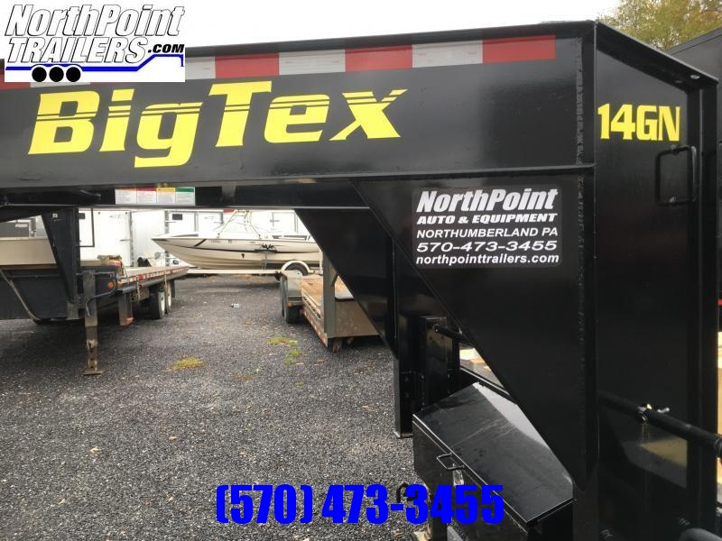 2018 Big Tex Trailers 14GN-20BK+5