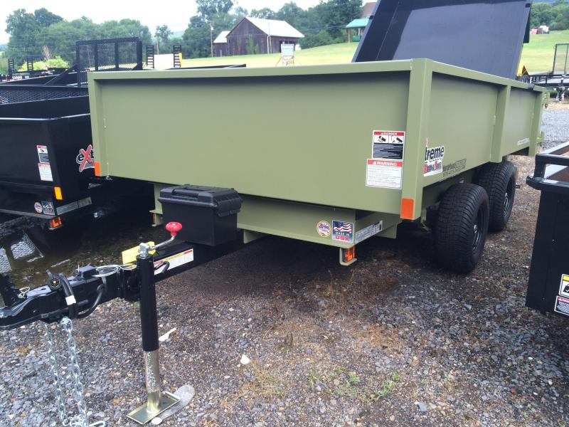 2017 XRT-418 Dump Trailer - Barn Doors w/ Slide Out Ramps