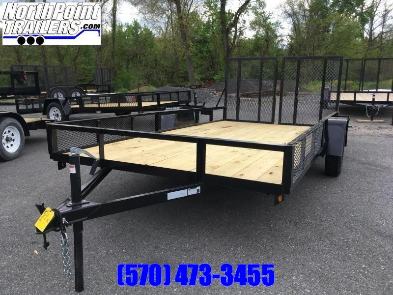 2019 TWF 102x14U w/ Side Ramps & Split Rear Gate - Radial Tires