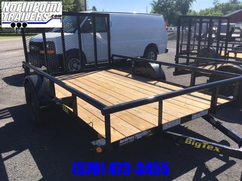 "2019 Big Tex 35SA-12BK4RG - 77""x12' Utility Trailer"