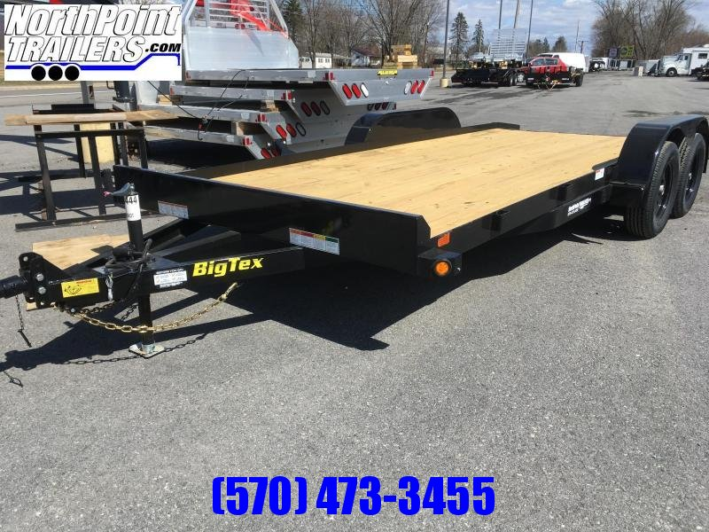 2018 Big Tex Trailers 70CH18 Car Hauler