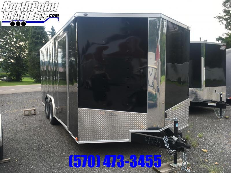 "2018 Samson SP8.5x18 Enclosed Trailer - 84"" Interior - 9990 GVWR"