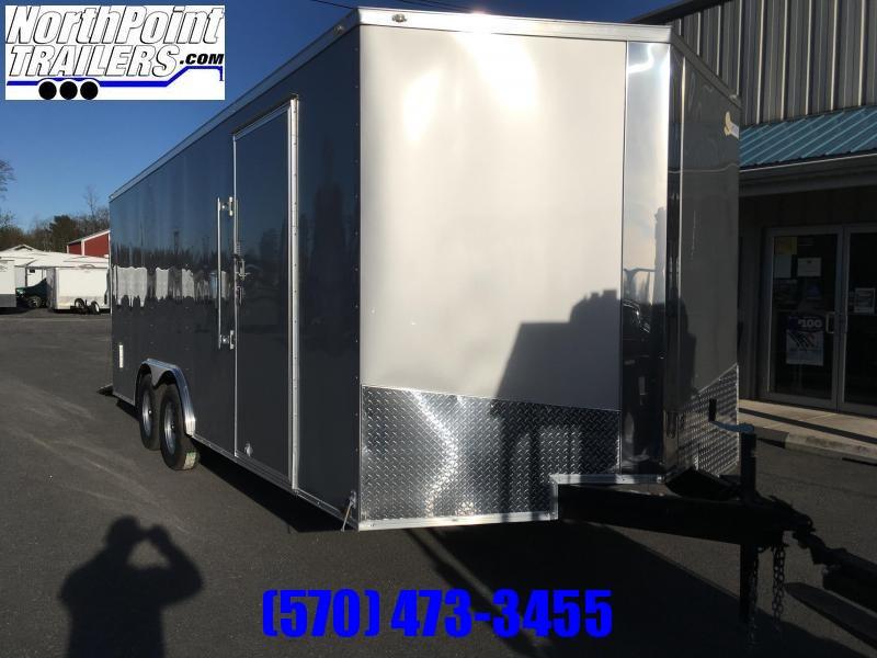 2018 Samson SP8.5x20 Enclosed Trailer - 5.2K Axles