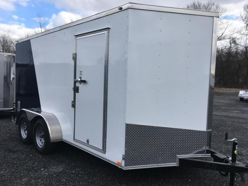 2018 Samson SP714TA Cargo Trailer - Two-Tone PSU COLORS!!!