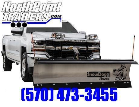 """SnowDogg MD75 Stainless Snow Plow - 7' 6"""""""