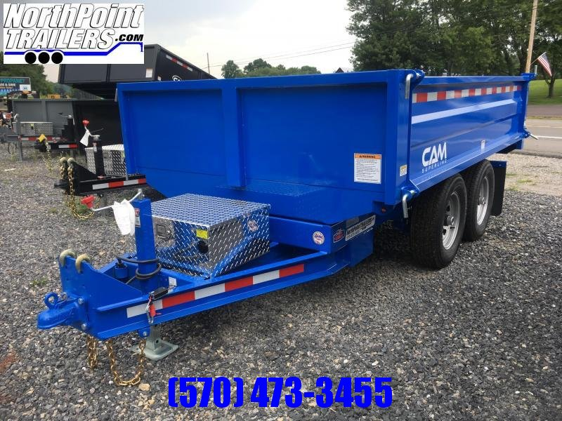 2018 CAM 5CAM610DODT - Blue Deckover Dump
