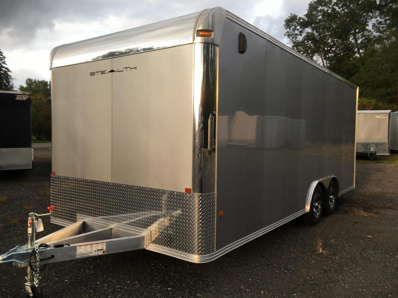 2018 CargoPro Trailers C8x20SCH Enclosed Car / Racing Trailer