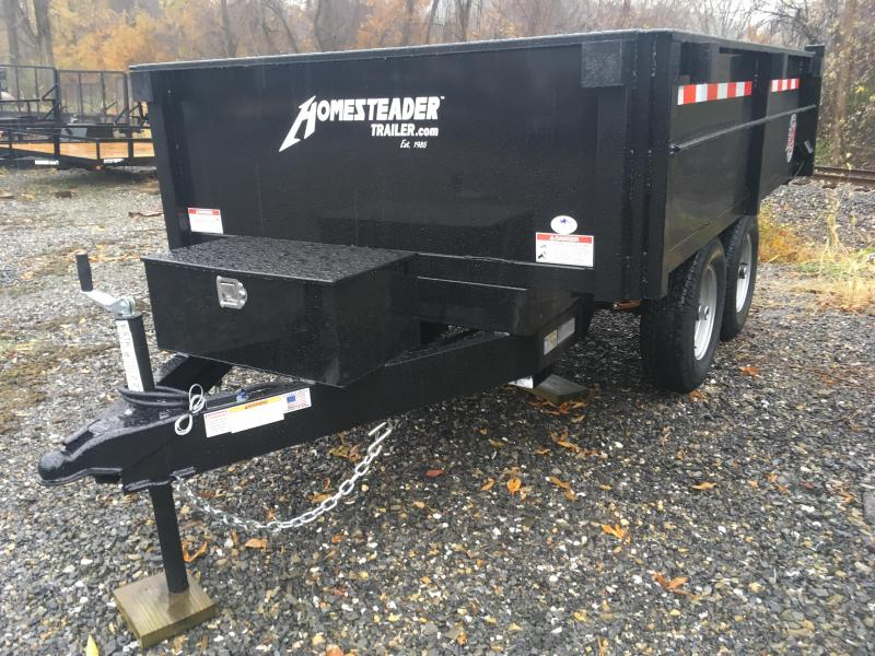 2019 Homesteader 610MB Dump Trailer W/ Curbside Fold Down