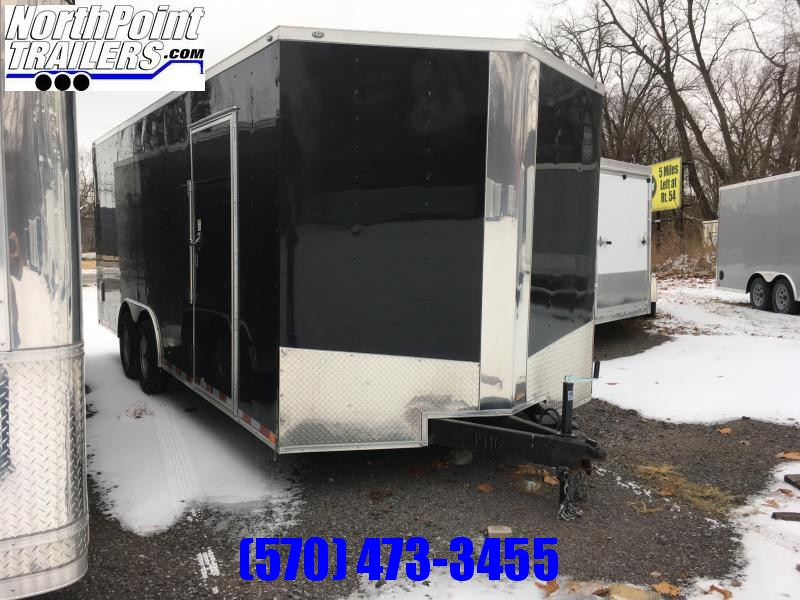 2018 Samson SP8.5x20 Enclosed Trailer - 5.2K Axles