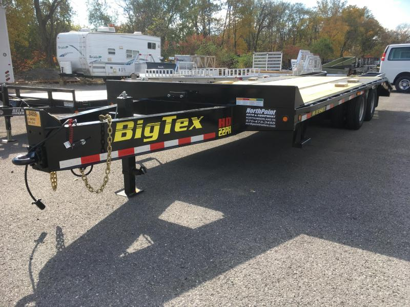 2018 Big Tex Trailers 22PH-20+5 **Tandem Dual Bumper Pull**