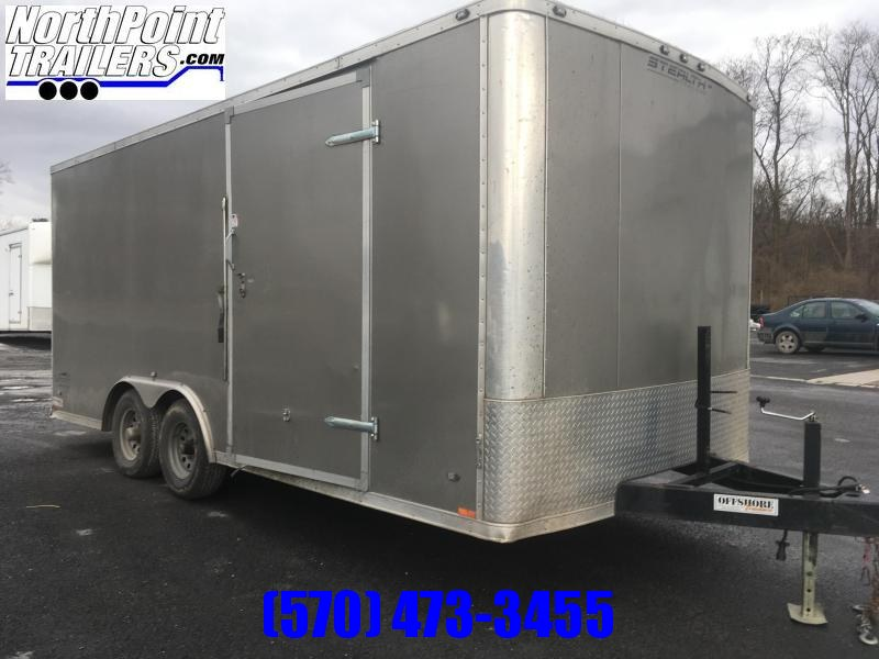 2015 Stealth Trailers 8.5x18 Enclosed Cargo Trailer