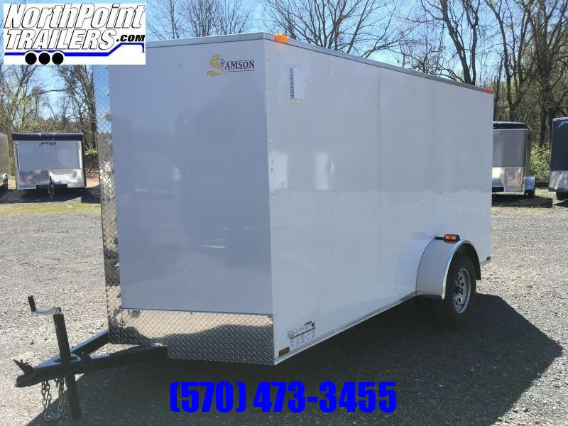 2018 Samson W6x12SA Enclosed Contractor Door Trailer