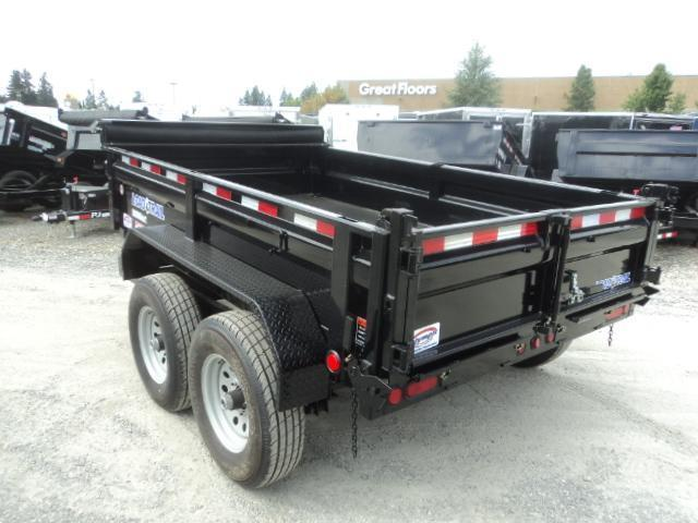 2018 Load Trail 6X10 10K w/Tarp Kit and Ramps  Dump Trailer