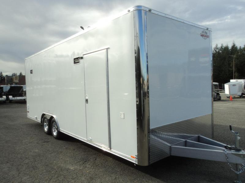 2018 Cargo Mate Aluminum Redline Series 8.5x2410K Race Trailer