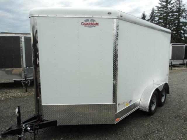 2018 Cargo Mate Blazer 7X12 7K w/3ft Wedge Enclosed Cargo Trailer