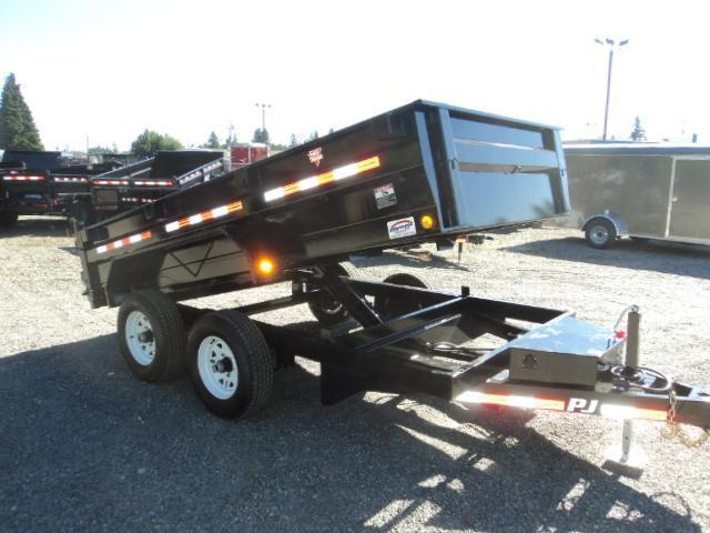 2018 PJ Trailers 6X12 10K/Ramps/D-Rings Tandem Axle Dump Trailer