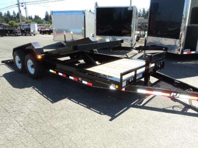 2018 PJ Trailers 7X20 HD 14K Equipment Tilt