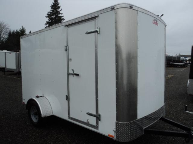 2018 Cargo Mate CH612SA Rear Ramp Door Enclosed Cargo Trailer