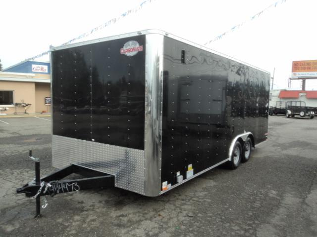 2018 Car Mate Trailers E-series 8.5x20 7K w/Cabinets/Vinyl walls/110V Pkg+++++