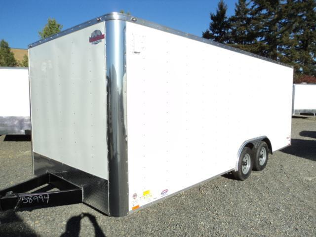 2017 Cargo Mate E-SERIES 8.5X20 7k w/Rear Ramp door Enclosed Cargo Trailer
