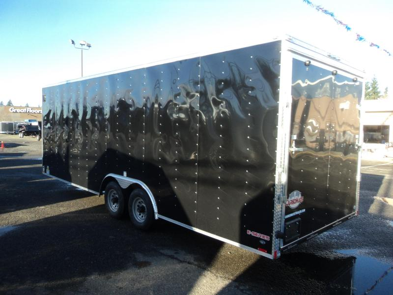 2018 Cargo Mate E-series 8.5x24 10K w/5K D-rings Enclosed Cargo Trailer