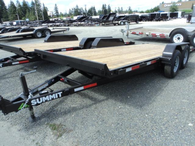 2017 Summit Denali Pro 7x18 10K TILT Car / Racing Trailer