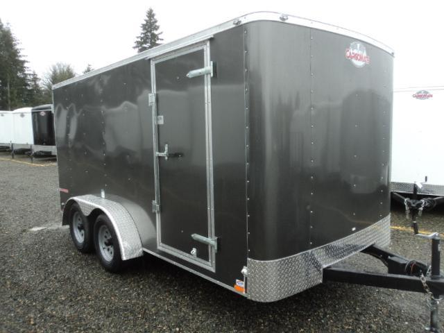 2018 Cargo Mate Challenger 7X14 7K W/Rear Ramp Door