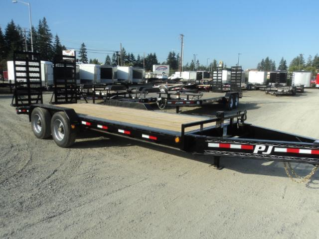 "2018 PJ Trailers 7' x 20' 20K 10"" Pro I-Beam Equipment Trailer"