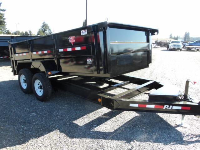 2020 PJ 7X14 14K Low Profile High Side Dump with Spare Tire