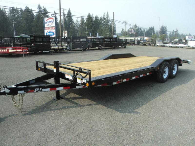 "2020 PJ Trailers 8.5X24 14k 6"" Channel Super Wide Equipment Trailer"