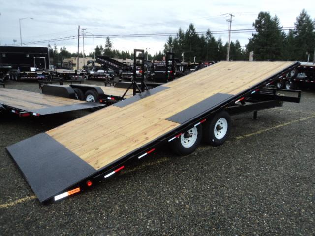 2018 PJ Trailers 8.5x22 16K Deckover w/Toolbox and 2nd Jack upgrade Tilt Trailer