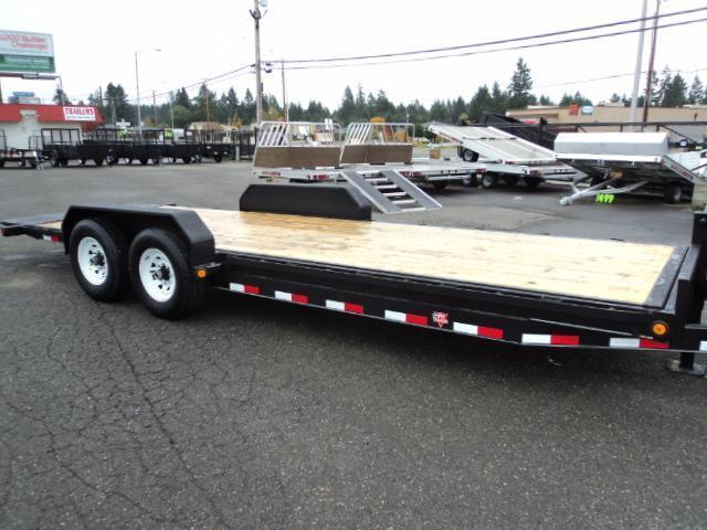 2018 PJ Trailers 7X20' 14K Powered Full Tilt Trailer w/Tire Mount