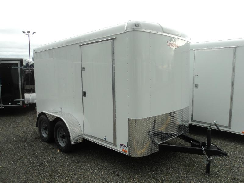 2018 Cargo Mate Blazer 6X12 7K Tandem Axle Cargo / Enclosed Trailer