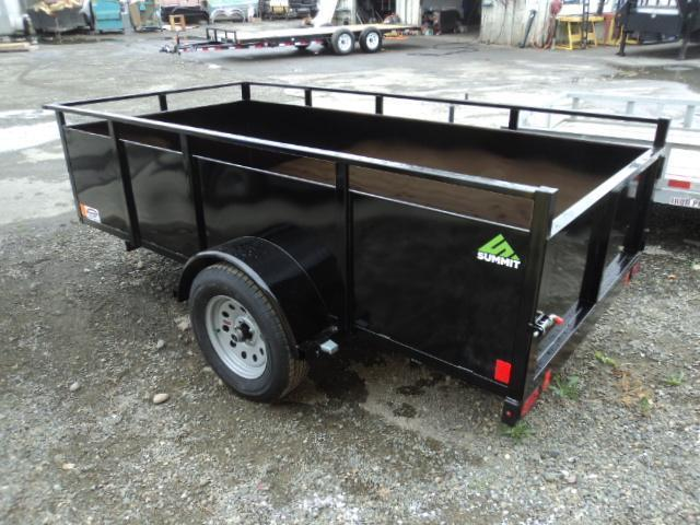 2018 Summit Alpine 5X8 Single Axle w/Swing Gate Utility Trailer