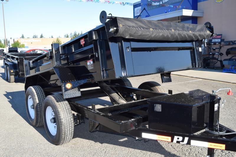 2018 PJ Trailers 5x10 7k w/Spare Tire and Tarp Kit