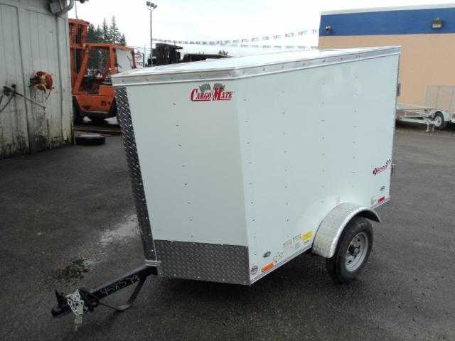 2017 Cargo Mate E-series 4X6 Enclosed Utility Trailer