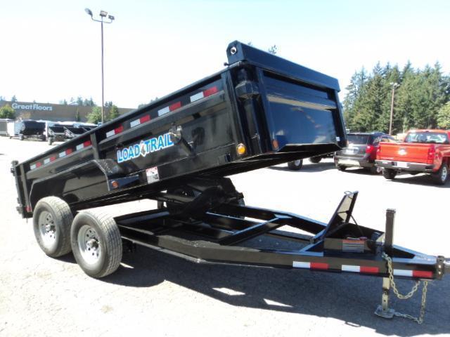 2018 Load Trail 7X14 14K Low Pro 14k Dump w/Tarp kit and Scissor lift