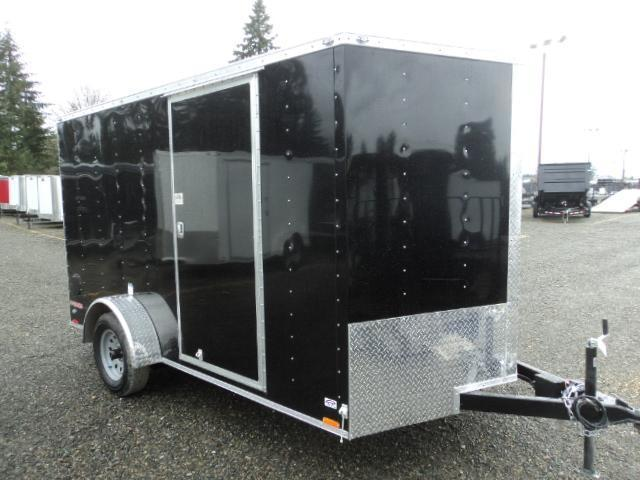 2018 Cargo Mate E-series 7X12 w/Rear Ramp Door